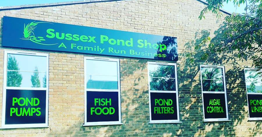 Welcome To The Sussex Pond Shop